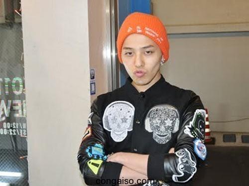 G-Dragon (Big Bang) mặt mộc tàn tạ
