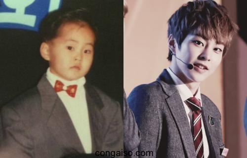 Xiumin EXO thời đi học