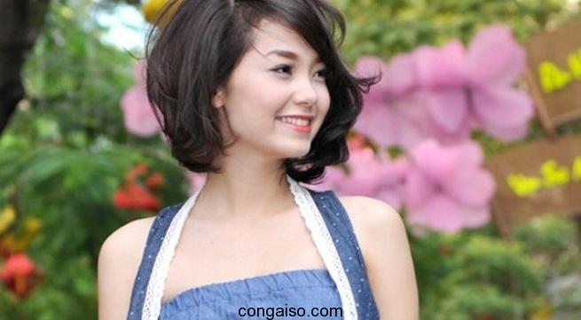 Các kiểu tóc ngắn cho mặt tròn đẹp, cá tính nhất 2017 1
