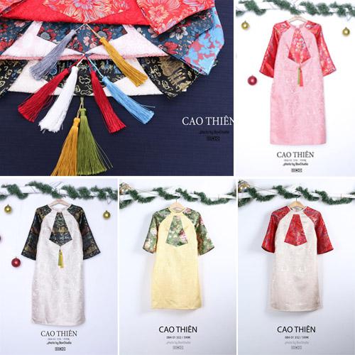 Mua áo dài cách tân may sẵn ở đâu rẻ mà đẹp ở Sài Gòn? 2