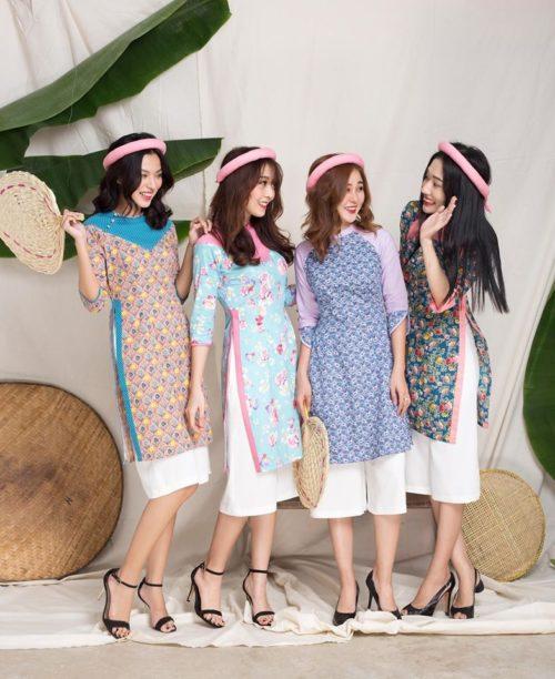 Mua áo dài cách tân may sẵn ở đâu rẻ mà đẹp ở Sài Gòn? 1