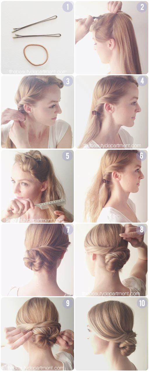 Top 10 cách búi tóc đẹp đơn giản bạn nên thử NGAY 11