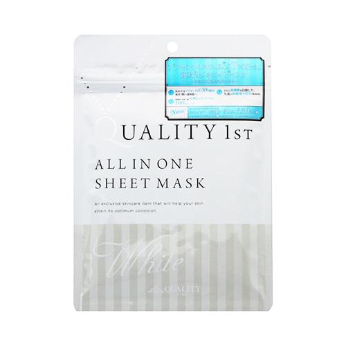Quality 1st All In One White Sheet Mask mau trang