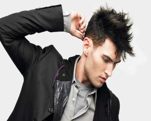 Kiểu tóc nam phù hợp với khuôn mặt dài và gầy 2
