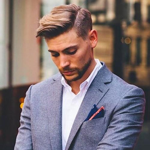 Kiểu tóc nam phù hợp với khuôn mặt dài và gầy 1