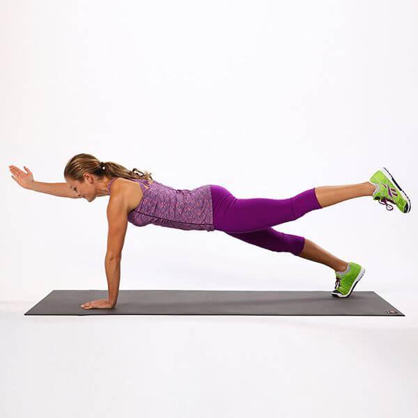 10 bài tập plank giảm mỡ bụng cho nữ sớm có vòng eo con kiến 1