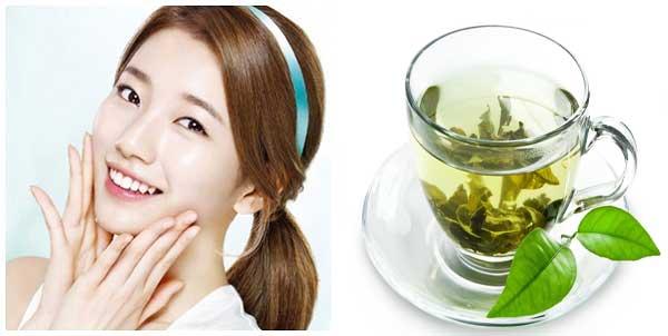 Ngăn ngừa tế bào lão hóa da bằng trà xanh