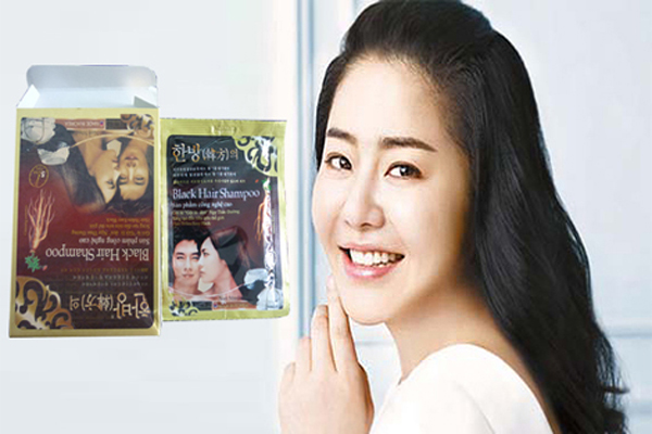 Dầu gội nhuộm Black Hair Shampoo tốt không? 4