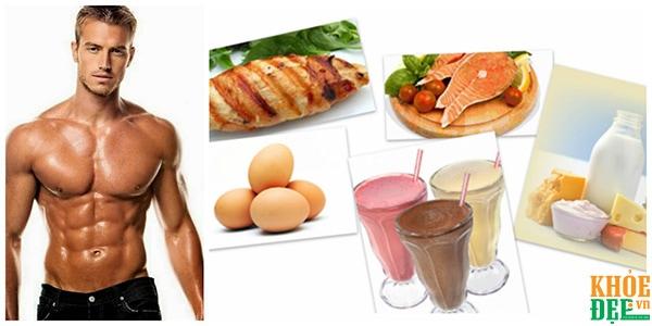 Tập gym và chế độ ăn phù hợp giúp bạn có cơ thể cường tráng và sức khỏe tốt hơn