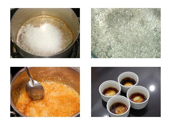 mật đường làm caramen