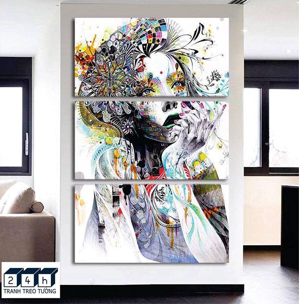 Trang trí nhà đẹp bằng tranh treo tường 6 vị trí treo tranh đẹp nhất 1
