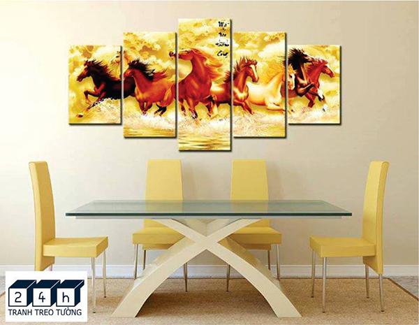 Trang trí nhà đẹp bằng tranh treo tường 6 vị trí treo tranh đẹp nhất 2