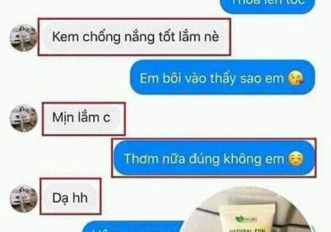 Review kem chống nắng thảo dược Linh Hương có tốt không? 2