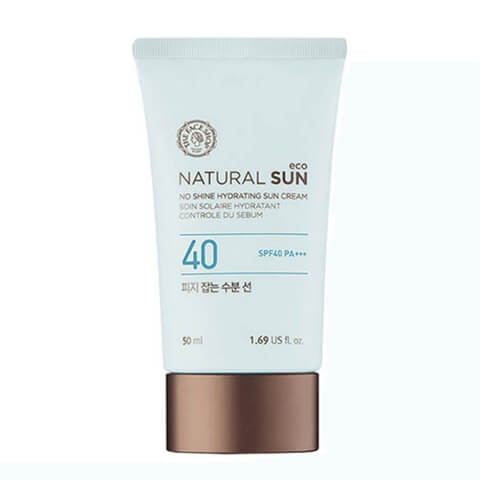 Natural Sun Eco No Shine Hydrating Sun Cream