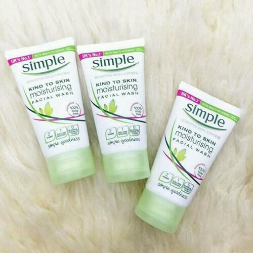 Simple Skin To Skin Moisturising Facial Wash