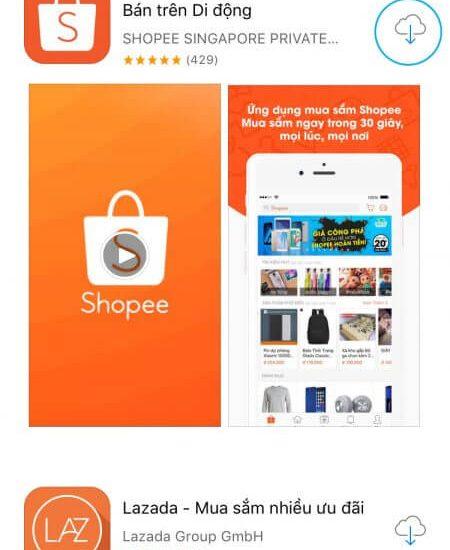 Tải Shopee cho iOS