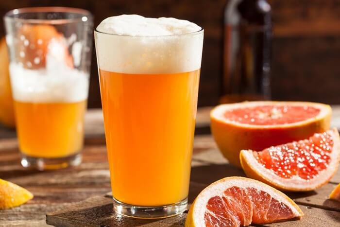 Tắm trắng bằng bia, sữa tươi, dầu ô liu, nước cam