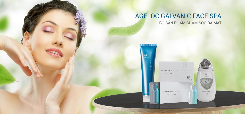 Bộ sản phẩm máy nâng cơ mặt Ageloc Galvanic Face Spa 2