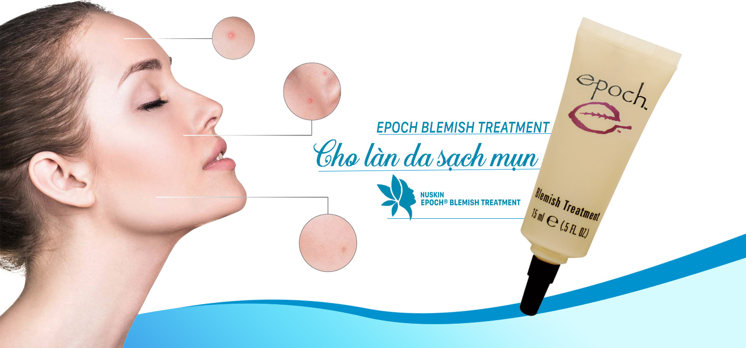 Kem trị mụn Epoch Blemish Treatment