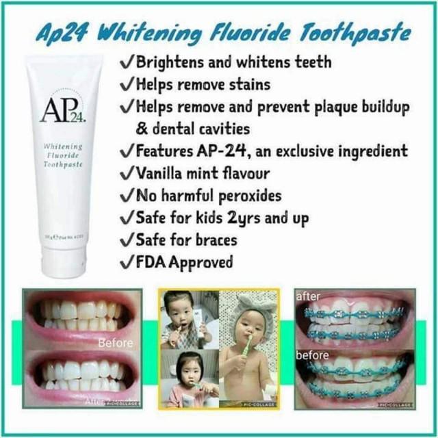 Kem Đánh Răng Nuskin AP24 giải pháp cho hàm răng trắng sáng khỏe mạnh 5