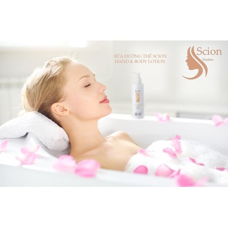 Sữa dưỡng thể Scion Hand & Body Lotion dưỡng da trắng sáng