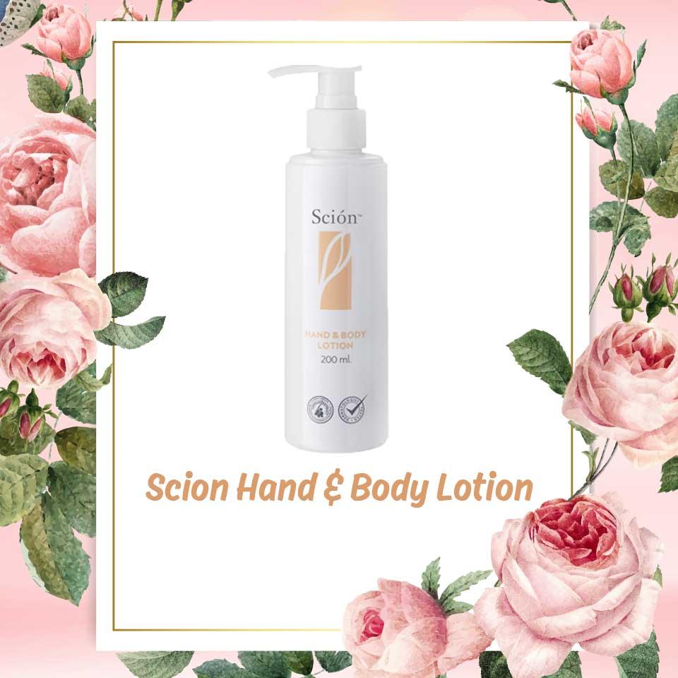 Sữa dưỡng thể Scion Hand & Body Lotion phù hợp với mọi loại da 1