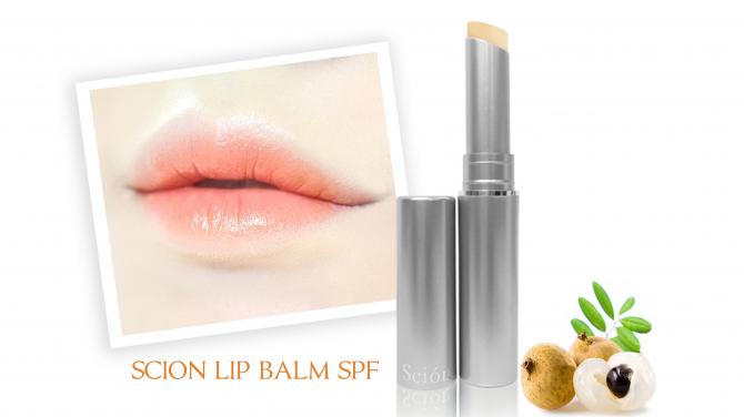 son dưỡng môi scion lip balm SPF 15