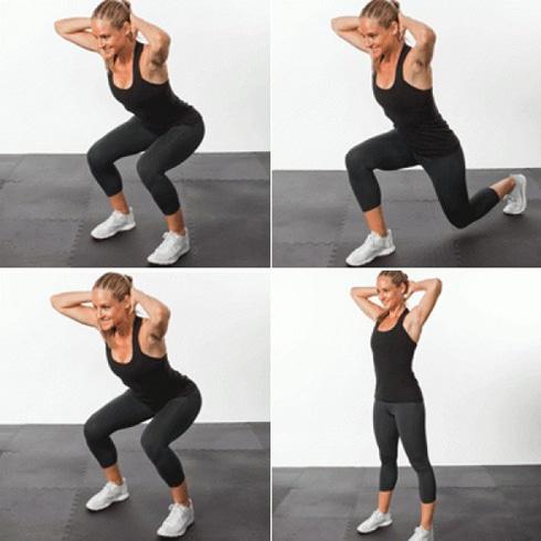 Tổng hợp các bài tập thể dục giảm cân hiệu quả ngay tại nhà 3