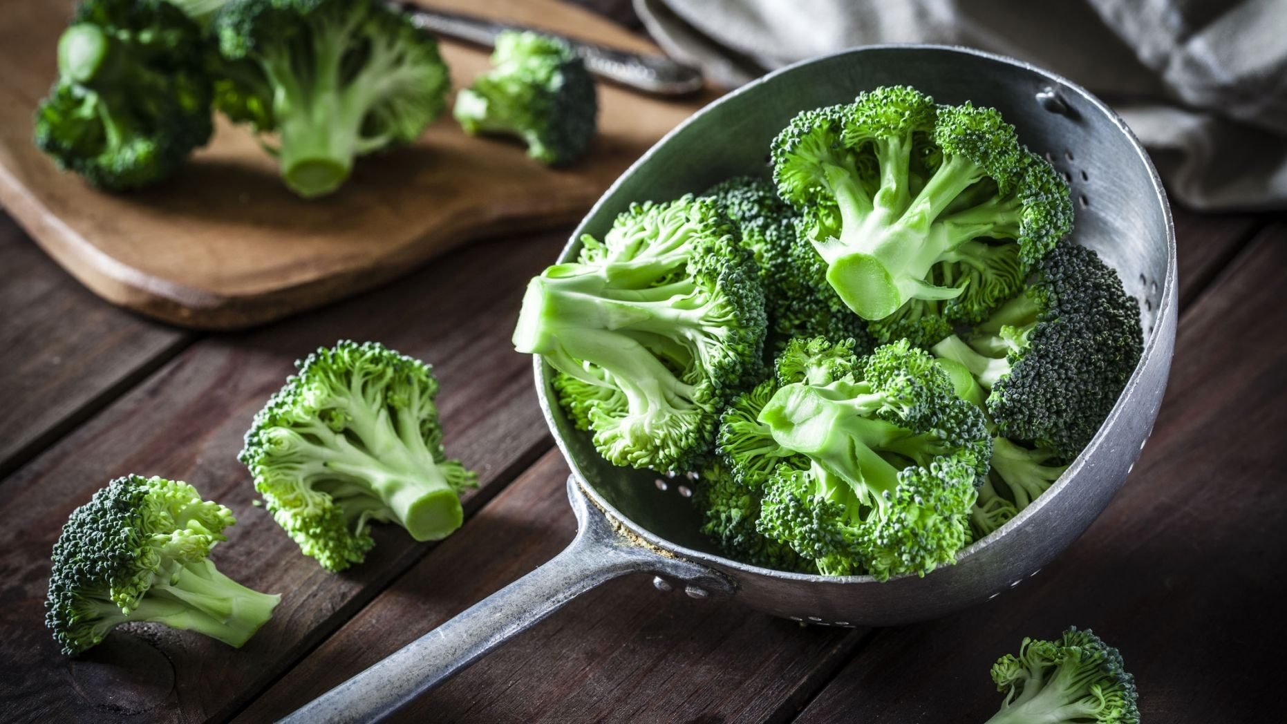 Bông cải xanh chứa hàm lượng vitamin C dồi dào