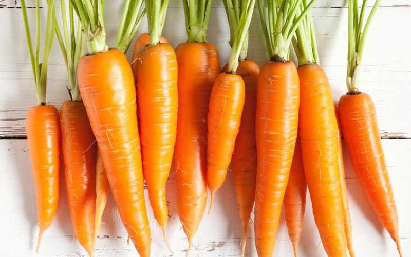 Cà rốt giúp giảm cân hiệu quả
