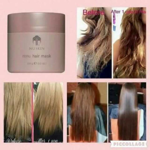 kem ủ tóc Renu Hair Mask giúp mái tóc chắc khỏe suôn mượt