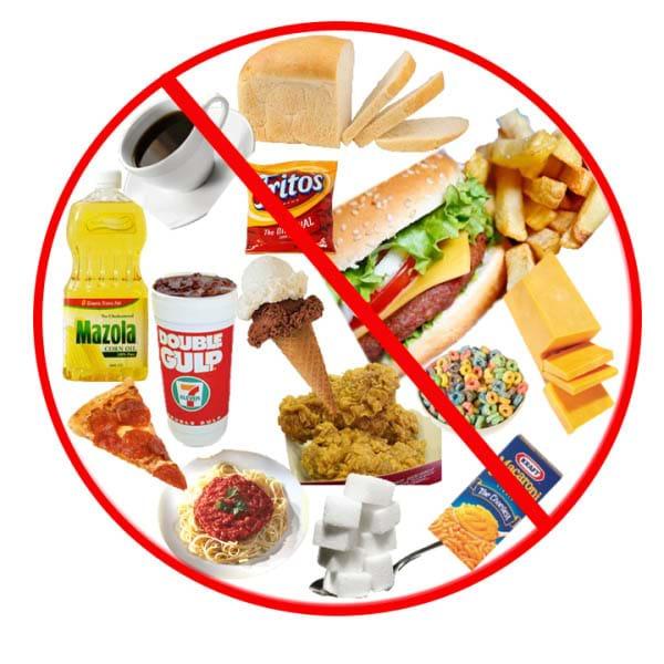 Hạn chế dầu mỡ và thức ăn nhanh