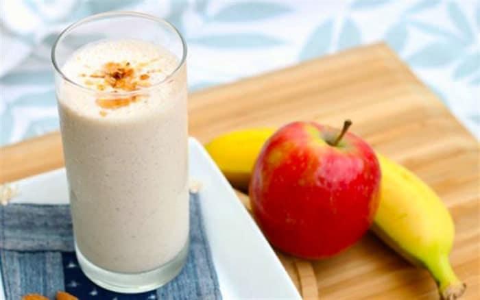 Sinh tố giảm cân của Nhật với chuối cùng táo