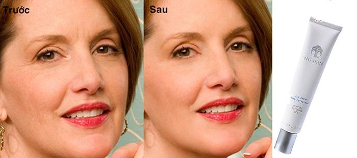 Kem xóa nếp nhăn nuskin tru face line corrector giúp xóa mờ nếp nhăn hiệu quả